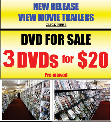 Video 1 Modesto - 3 dvds for $20