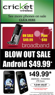 Blow Out Sale - Android Cell Phones